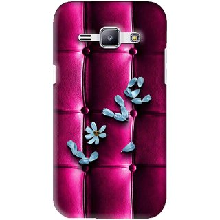 Snooky Printed Love Air Mobile Back Cover For Samsung Galaxy J1 - Purple