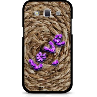 Snooky Printed Love Rove Mobile Back Cover For Samsung Galaxy 8552 - Brown