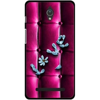 Snooky Printed Love Air Mobile Back Cover For Asus Zenfone C - Purple