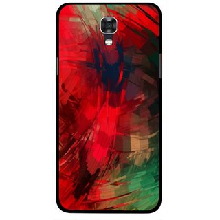 Snooky Printed Modern Art Mobile Back Cover For Lg X Screen - Red