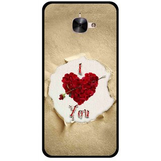 Snooky Printed Love Heart Mobile Back Cover For Letv Le 2 - Multi