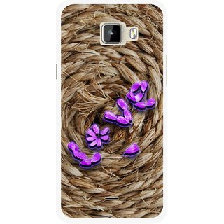 Snooky Printed Love Rove Mobile Back Cover For Micromax Canvas Nitro A310 - Brown