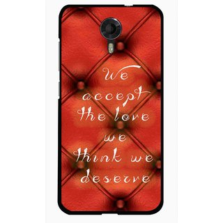 Snooky Printed We Deserve Mobile Back Cover For Micromax Canvas Xpress 2 E313 - Red