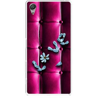 Snooky Printed Love Air Mobile Back Cover For Sony Xperia X - Purple