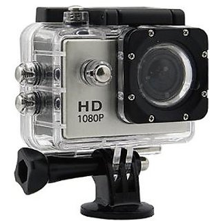 IBS S2R Waterproof Action Camera 4K Wifi 170 Degree Wide AAngle Sport Camera Black Sports   Action Cameras
