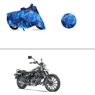 AutoStark Water Resistant Blue Bike Cover Bike Body Cover Military Design For Bajaj Avenger 220 Street
