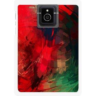 Snooky Printed Modern Art Mobile Back Cover For Blackberry Passport - Red