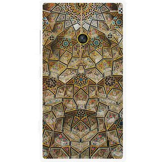 Snooky Printed Heritage Pride Mobile Back Cover For Nokia Lumia 520 - Multi
