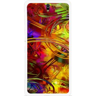 Snooky Printed Vibgyor Mobile Back Cover For Sony Xperia C5 - Multi