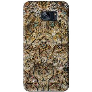 Snooky Printed Heritage Pride Mobile Back Cover For Samsung Galaxy S7 - Multi