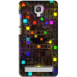 Snooky Printed Gaming Chamber Mobile Back Cover For Micromax Bolt Q331 - Multi