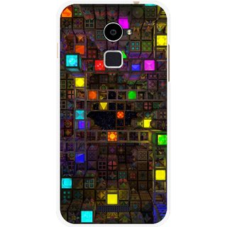 Snooky Printed Gaming Chamber Mobile Back Cover For Coolpad Note 3 Lite - Multi