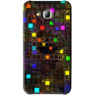 Snooky Printed Gaming Chamber Mobile Back Cover For Samsung Galaxy J7 - Multi