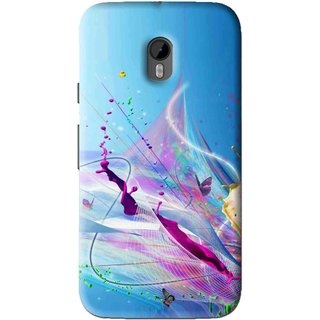 Snooky Printed Blooming Color Mobile Back Cover For Moto G3 - Multi