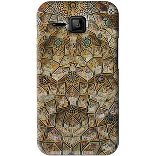 Snooky Printed Heritage Pride Mobile Back Cover For Micromax Bolt S301 - Multi