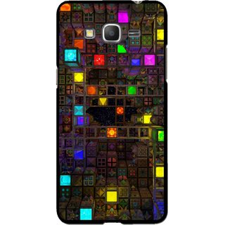 Snooky Printed Gaming Chamber Mobile Back Cover For Samsung Galaxy Grand Max - Multi