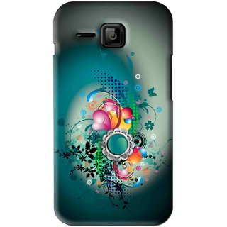 hot sale online 08f47 4172e Snooky Printed Sky Flower Mobile Back Cover For Micromax Bolt S301 - Multi
