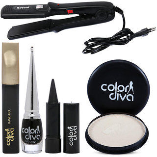 Color Diva Face Makeup Combo Set Of 5 C-529