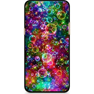 online retailer 98fb8 07688 Snooky Printed Funky Bubbles Mobile Back Cover For Oppo F3 plus - Multi