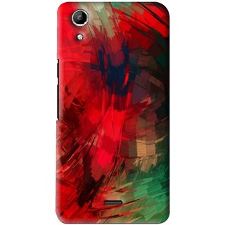 best sneakers bc484 a0efd Snooky Printed Modern Art Mobile Back Cover For Micromax Canvas Selfie Lens  Q345 - Red