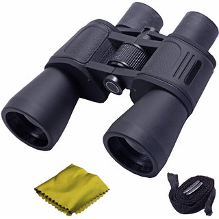 Waterproof Bushnell 10X50 Zoom 10X Prism Binocular Telescope Monocular with Pouch -47