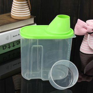 Creative Plastic Kitchen Food Cereal Storage Container Box