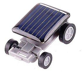 Kuhu Creations Innovative Cute Ultra Small Solar Energy Car. (1 Units, Grey Multicolor)