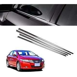 Buy Trigcars Honda City Car Window Lower Garnish Chrome Online Get