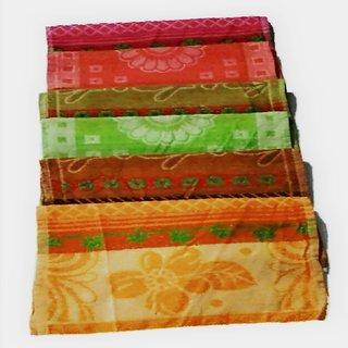 SAA Fashion Multicolor Baby Towel Bath - Pack of 6
