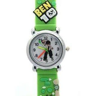 Ismart Kids Green Benten Analog Wrist Watch