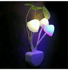 ZARSA Mushroom  LED Color Changing Night Lamp Wall Light - MUSHROOMYELLOW