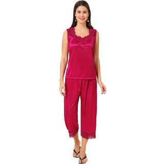 6305d65765 Buy Boosah Women's Pink Satin 1 Night Suit Online - Get 49% Off