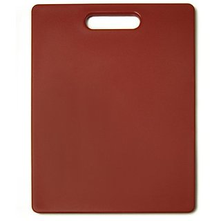 The Gripper 11-Inch by 14-Inch Non-Slip Cutting Board - Red
