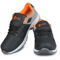 Zvise Gray Sports Running Shoes