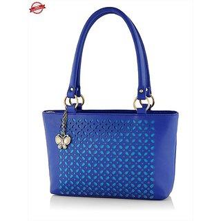 Butterflies Sky Blue Womens Shoulder Bag