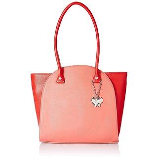 Butterflies Women  Dark Peach  Handbag BNS 0580DPCH