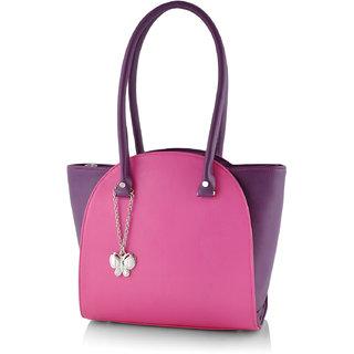 Butterflies Women  Pink  Handbag BNS 0580PK