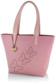 Butterflies Women ( Baby Pink ) Handbag BNS 0589BPK