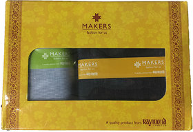 Raymond Makers Unstitched Fabric for Shirt & Trouser in Gift Box