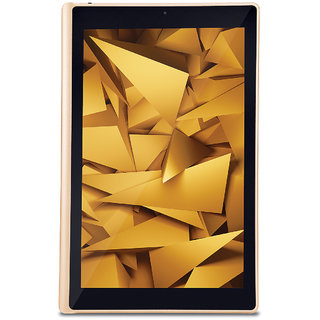 iBall Slide Elan Tablet (10.1 inch,16GB, Wi-Fi+4G+VoLTE Support +Voice Calling) Gold + Cobalt Brown