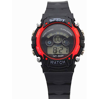 25c30921897a Buy Sports Multi Color Light Digital Red Wrist Watch for kids Online ...