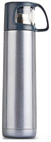 PRiQ Vacuumized Travel Flask Hot and Cold Maintain Temperature for Apprx 24 Hours- 700 ML - Blue