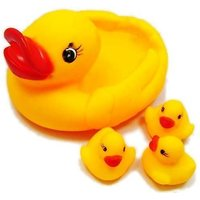 Rubber Squeeze Duck Baby Bathing Toys