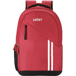 Buy Safari Sport Red Casual Backpack Bag Online   ₹1878 from ShopClues 870bc2b8b38c7