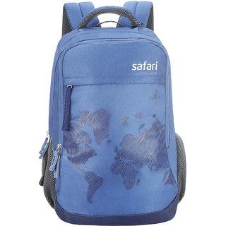 Buy Safari Worldmap Blue Laptop Backpack Online 2779 From Shopclues