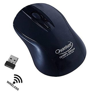 Quantum Wireless Mouse QHM262W Optical Mouse High Sensor