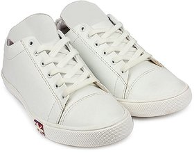 AADI MEN'S WHITE NEW LOOK OUTDOOR CASUAL SHOES
