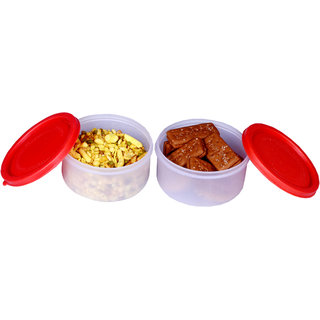 Kitchenraft 2 Pieces Container Set (250ml each)