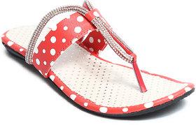Amour World Women's Pink Flats - 134738930
