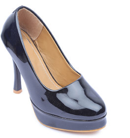 Amour World Women Black Pump Heel